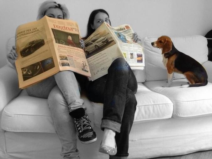 Daniela, Caterina e Ninja, un ufficio stampa senza pari.