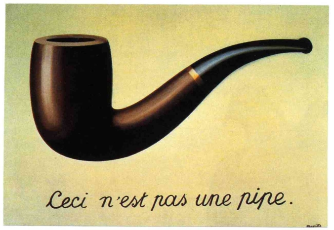 Magritte aveva capito tutto.