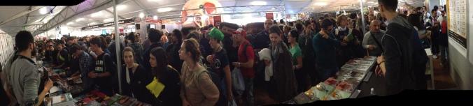 La folla al nostro stand a Lucca Comics & Games 2014 ce la siamo sognata per giorni, dopo.